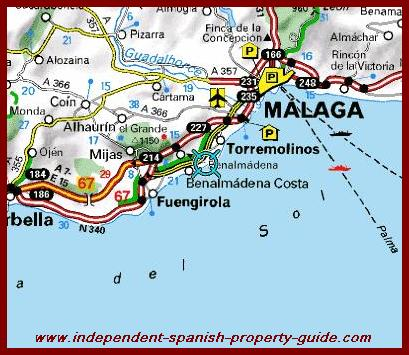 Benalmadena_map_Spain