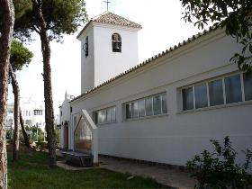 Saint Agustins church in Calahonda Spain