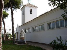 Saint Agustins church in Calahonda Spain