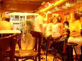 Night life in Calahonda Spain.
