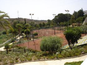 El Sol Tennis Club in Calahonda Spain