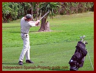 Make sure you play golf on the golf courses before buying a golf property nearby.