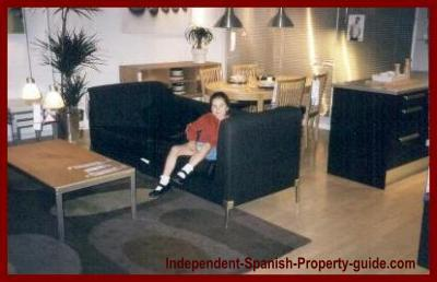 Jessica studio apartment in Spain