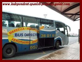 direct bus malaga airport to marbella