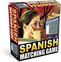 Spanish Matching Game