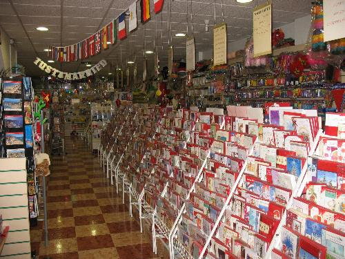 Party shop spain the irish card party store fuengirola costa huge selection of greeting cards m4hsunfo