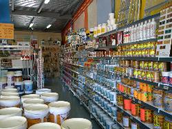 Selling all types of paints, dyes and varnishes