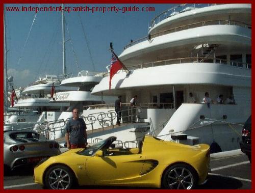 puerto banus marbella yacht