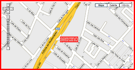 Location of MC Serrano