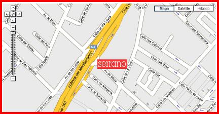 Location of MC Serrano