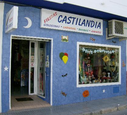 Castilandia - tu tienda de disfraces, castillos hinchables, golosinas, carnaval, juguetes, fuegos artificiales, petardos y bengalas