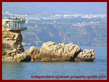 Balcony of Europe in Nerja