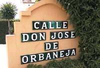 Calle Don Jose de Orbaneja Calahonda Spain.