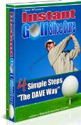Instant golf slice cure